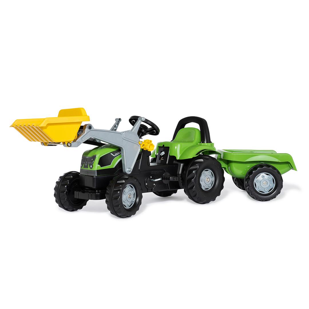 Tractor de Pedales rollyKid Deutz-Fahr 5115 G TB