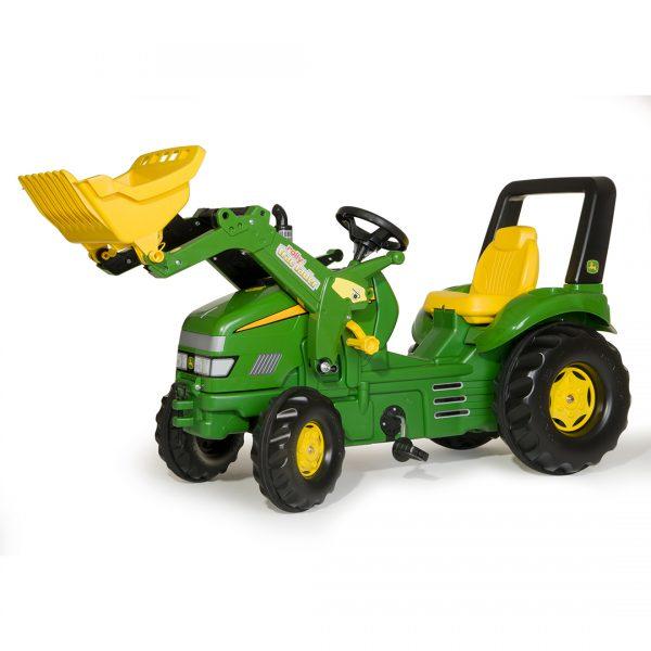 Tractor de Pedales rollyX-Trac John Deere con pala