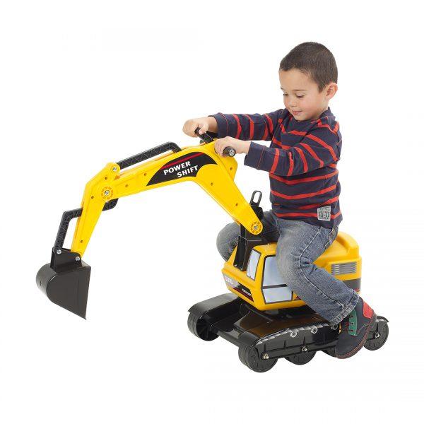 Excavadora de Juguete Power Shift Amarilla