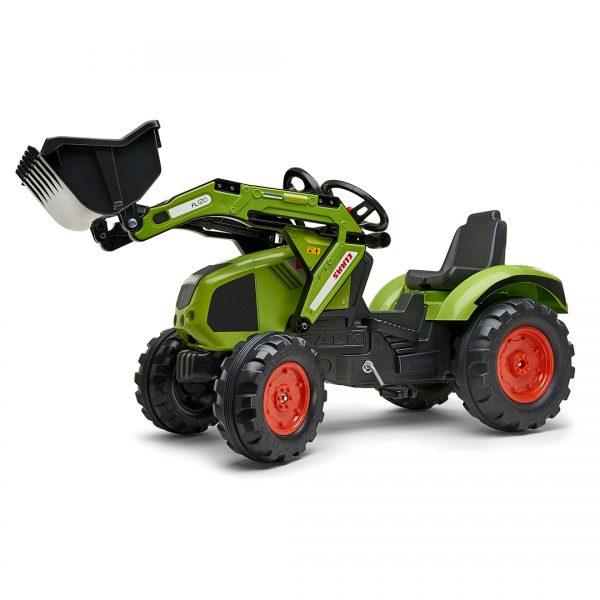 Tractor de pedales Claas Arion 330 con pala