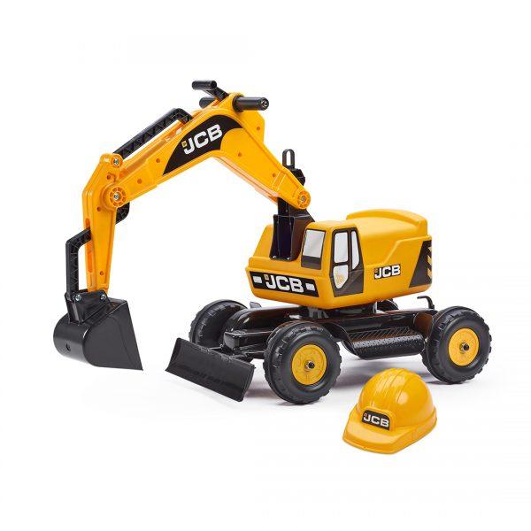 Excavadora de Juguete JCB con casco