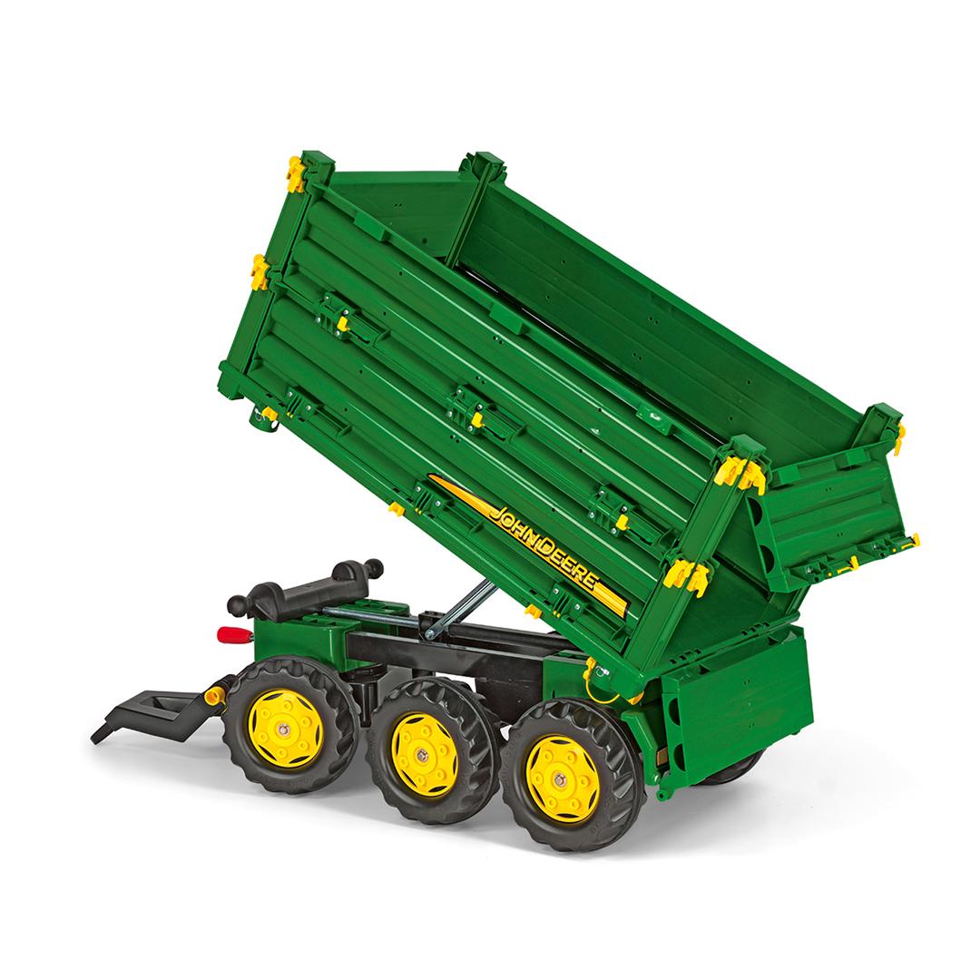 Remolque Agrícola Multifunción John Deere | 3 Ejes