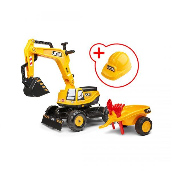 Excavadora de Juguete JCB con asiento abatible