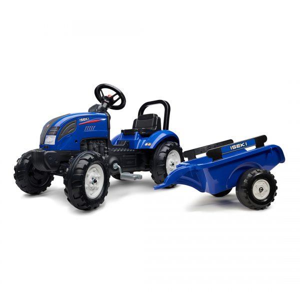 Tractor de pedales Iseki TG6625 con remolque