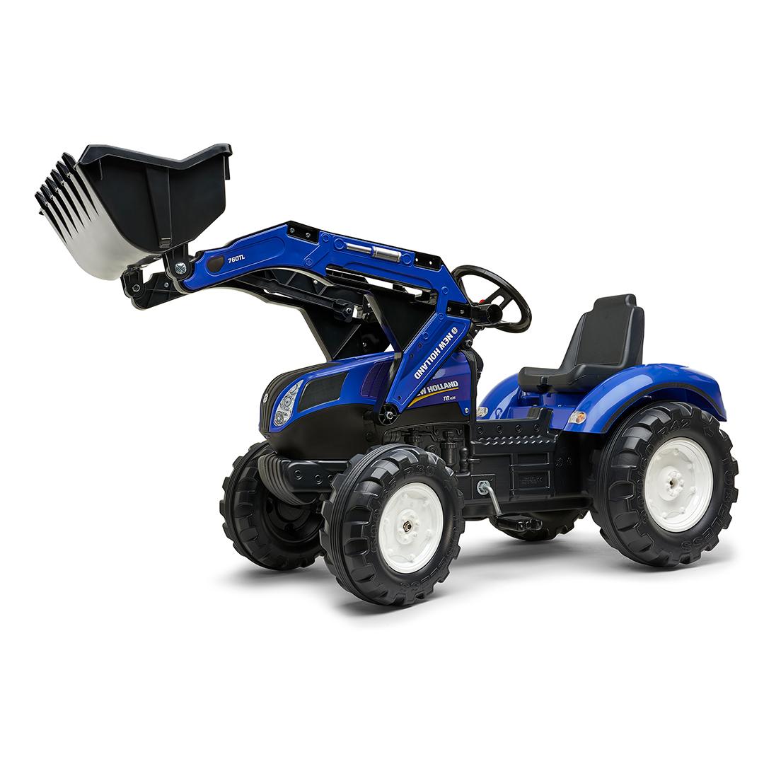 Tractor de pedales New Holland T8 con pala