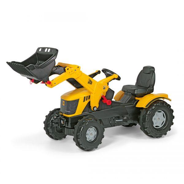 Tractor de Pedales rollyFarmtrac JCB 8250 con pala