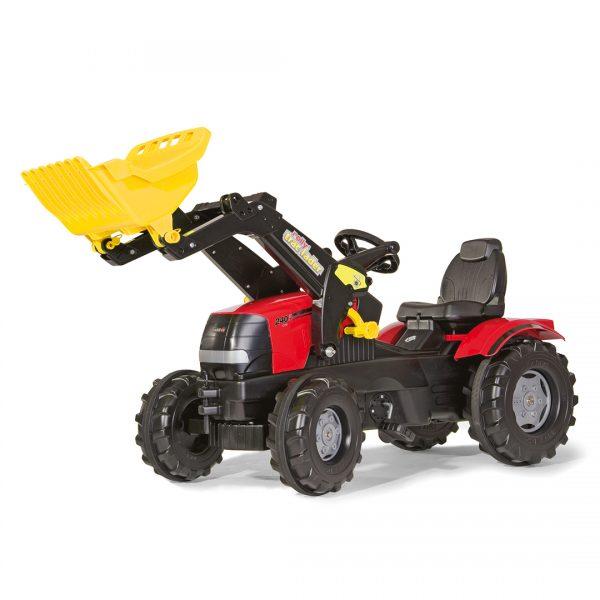 Tractor de Pedales rollyFarmtrac Case Puma CVX 240 con pala
