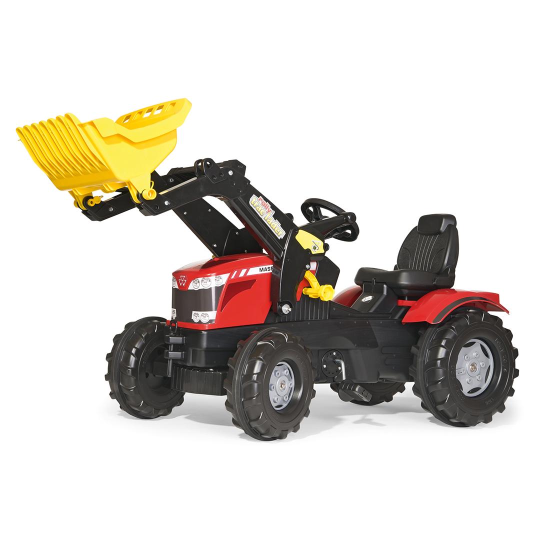 Tractor de Pedales rollyFarmtrac Massey Ferguson con pala