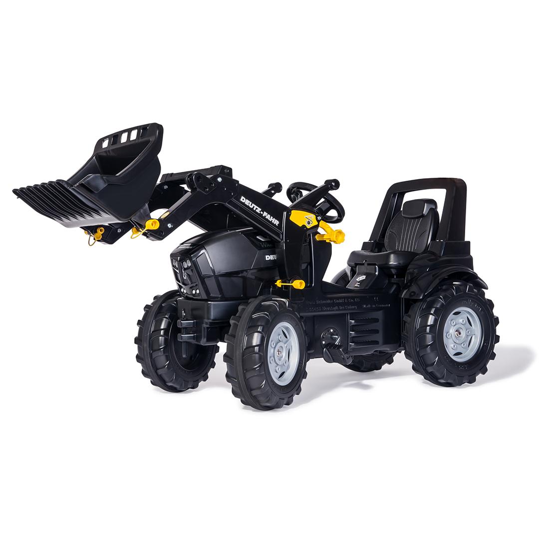 Tractor de Pedales rollyFarmtrac Deutz Agrotron TTV Warrior con pala