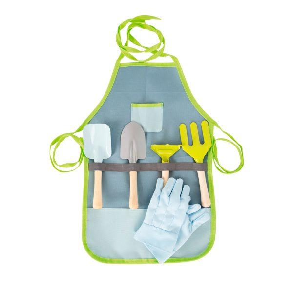 delantal-herramientas-jardinería-infantil