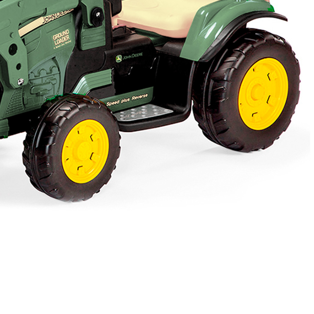 Ruedas tractor eléctrico Peg Perego